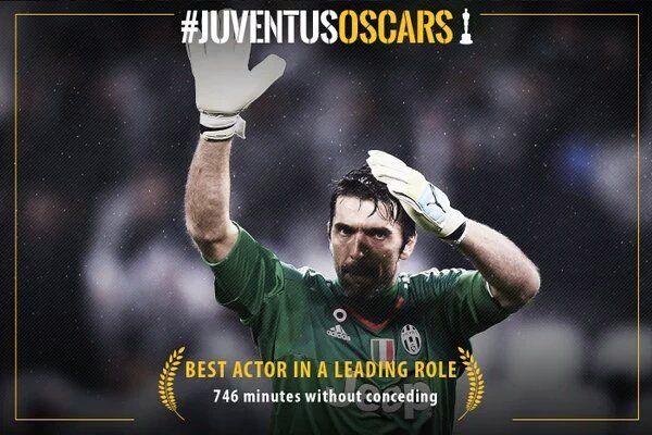 Juventus-Inter 2-0 con i gol di Morata Bonucci, Buffon fa record di imbattibilità