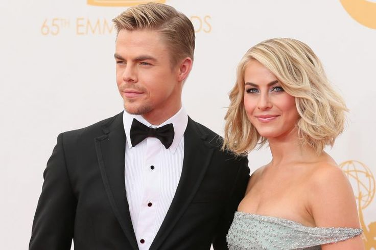 Derek Hough, Age 29 and his sister Julianne, Age 26.