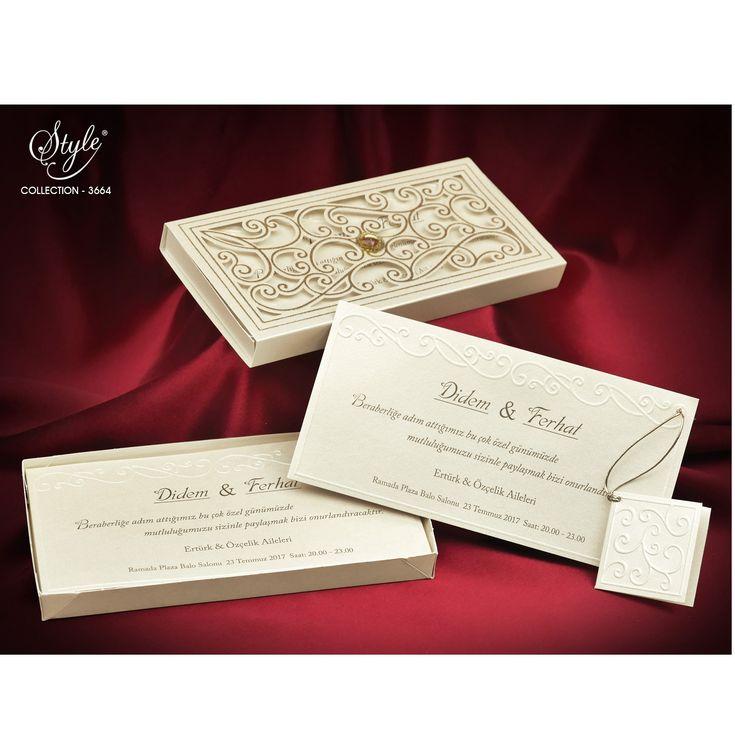 Style Düğün Davetiyesi Modelleri  3664