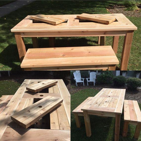 die besten 17 ideen zu picknick tisch k hler auf pinterest. Black Bedroom Furniture Sets. Home Design Ideas