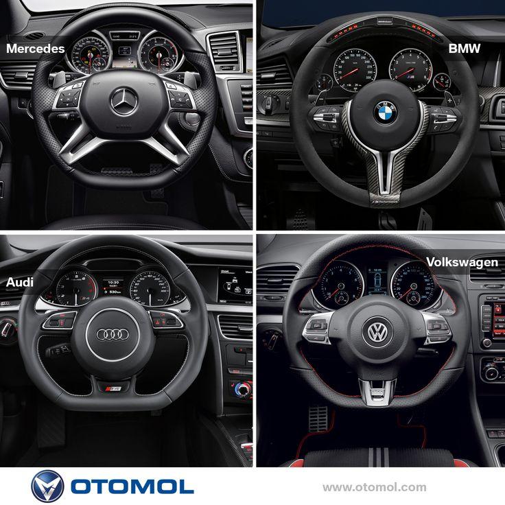 Senin direksiyon tercihin hangisi ? Merak ediyoruz doğrusu smile ifade simgesi A) #Mercedes B) #BMW C) #Audi D) #Volswagen