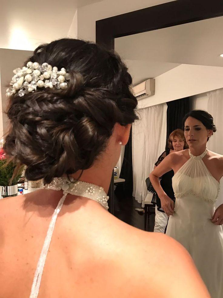 Makeup & hair Agustina Montenegro Tocado by Adelaida Mercado