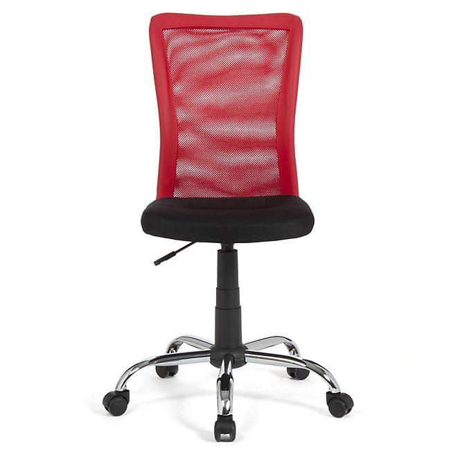 Mia Chaise de bureau dactylo rouge