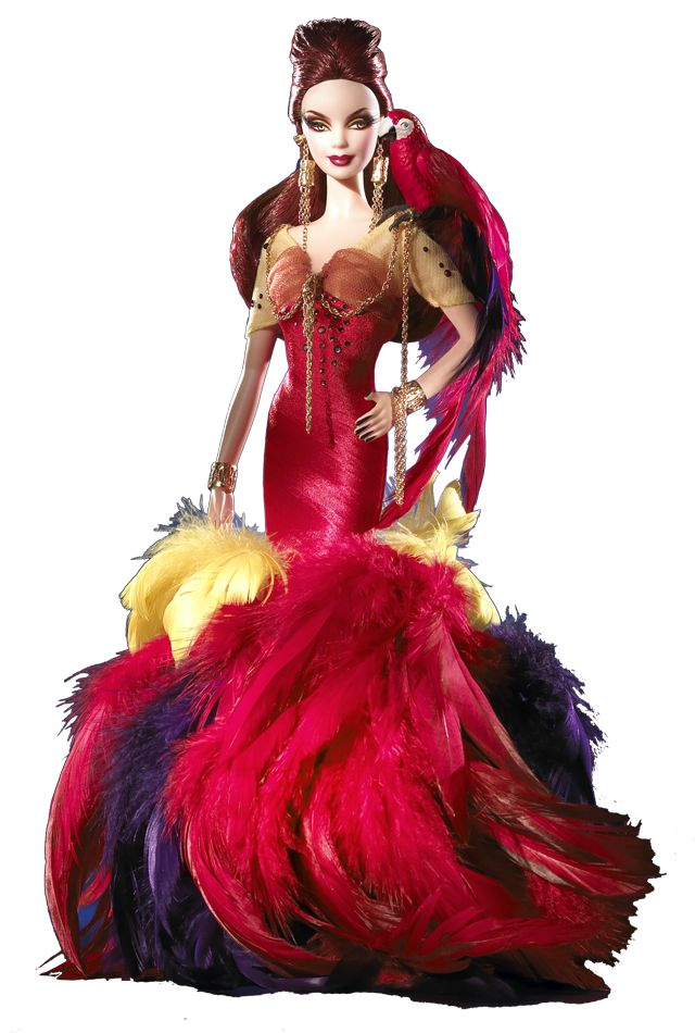 The Scarlet Macaw Barbie® Doll | Barbie Collector-2008 Colorful I really like this doll!
