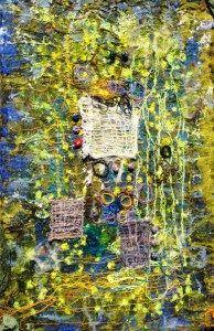 tekstil collage mix