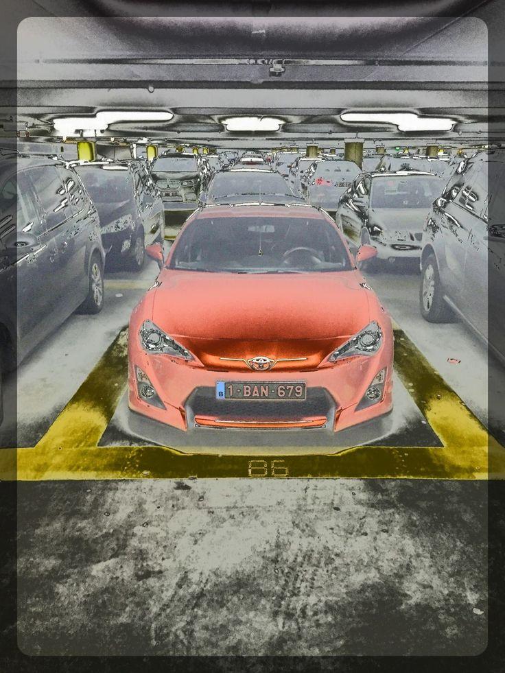 Toyota GT86 Custom Parking Spot