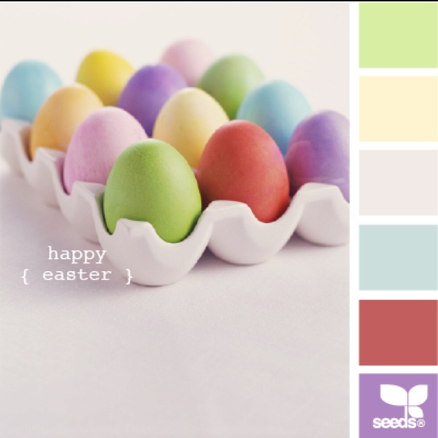 Pin By Caro Roberts On Home Sweet Home Design Seeds Color Palette Design Seeds Easter Colors