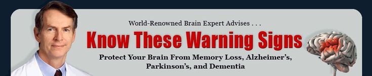 Know These Warning Signs protect from memeory loss, Alzhimer's Parkinson's Dementia @newsmax #healthcare