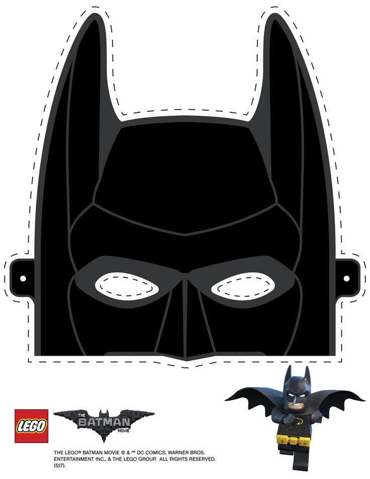 Mask cutout - Batman