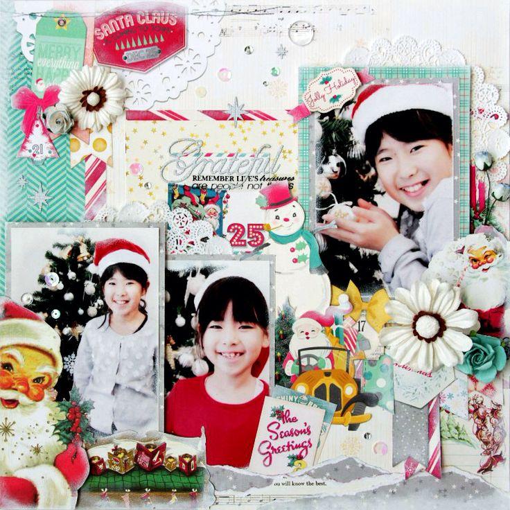 #Christmas #BoBUNNY #12×12 #scrapbooking