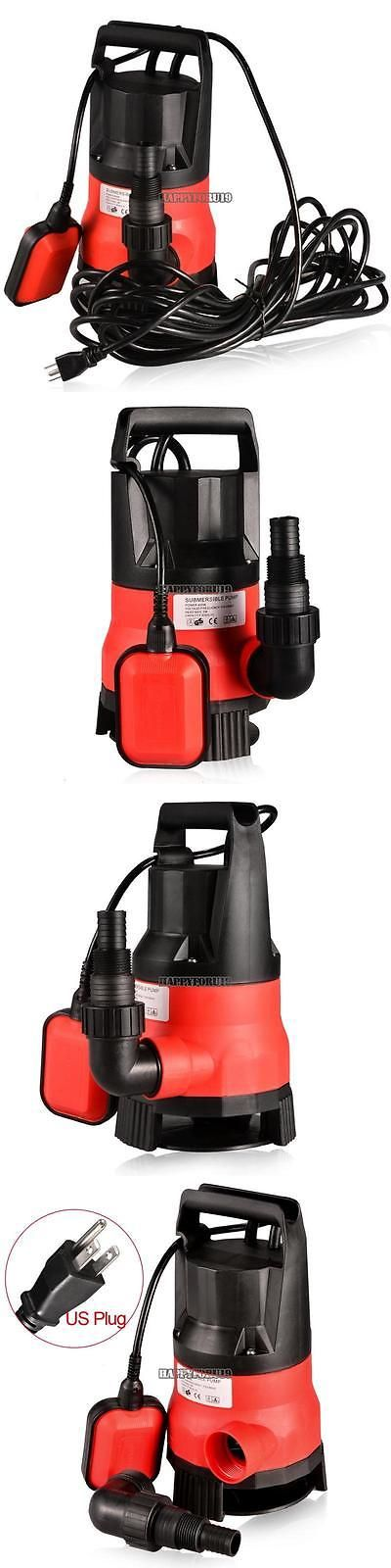 Pumps 42132: New 400W 1.2Hp Clear Dirty Water Submersible Pump Pool Pond 110V 21000Gph Multi -> BUY IT NOW ONLY: $42.47 on eBay!