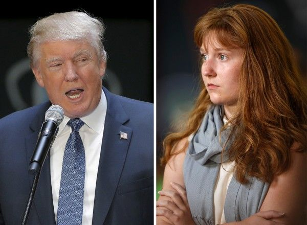 "About a year ago, 18-year-old college student Lauren Batchelder stood up at a political forum in New Hampshire and told Donald Trump that she didn't think he was ""a friend to women."""