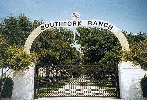 Southfork Ranch, north of Dallas, Tx.
