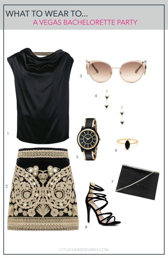 0f56c3ec1119 Vegas, Baby! What to wear to a bachelorette party in Vegas in 2019 ...