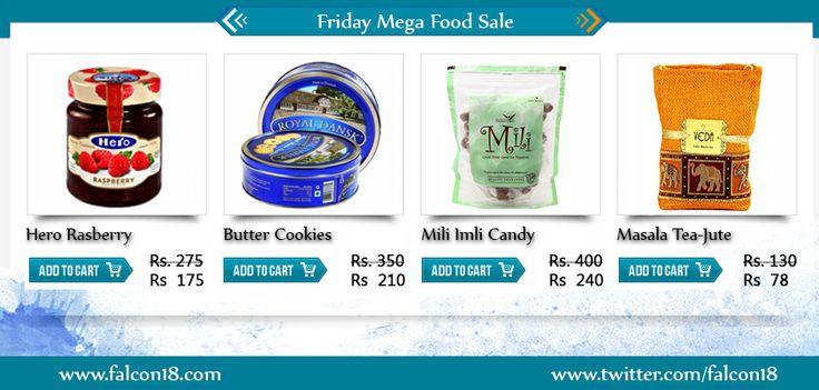 Save money and get complete value for your money through the mega sale on variety food products. Be a good host and make your guests happy this #Holi.  Click now to buy online:- http://www.falcon18.com/Buy-natural-organic-food-Online