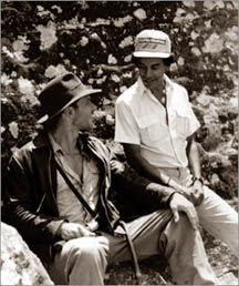 Harrison Ford with Chandran Rutnam on the set of Indiana Jones and the Temple of Doom which was shot in Kandy, Sri Lanka in 1983. - Wikipedia, the free encyclopedia