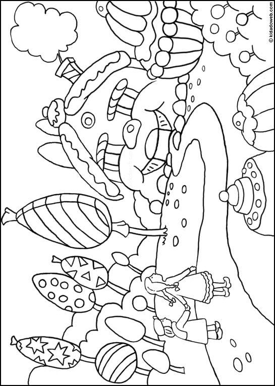 Kidadoweb - coloriages de contes