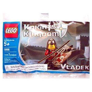 Lego Knights Kingdom Mini Figure Set #5998 Vladek by LEGO. $2.98. For Ages 5 & Up. Add to your Knights Kingdom collection. Fun for imagination play. LEGO Knights' Kingdom 5998 Vladek
