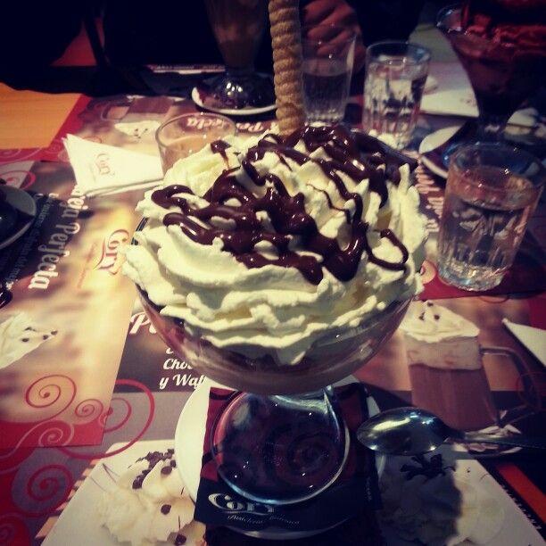 #Icecream #heladodecastañas