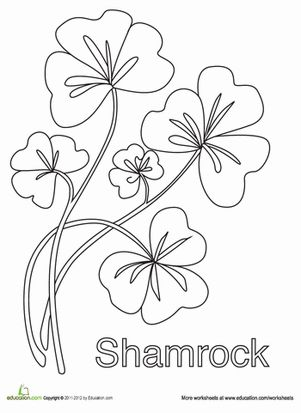 117 Best Coloring StPatricks Day Images On Pinterest