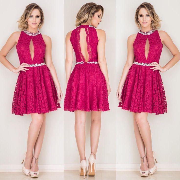 98 best vestidos de festa images on Pinterest | Ball gown, Classy ...