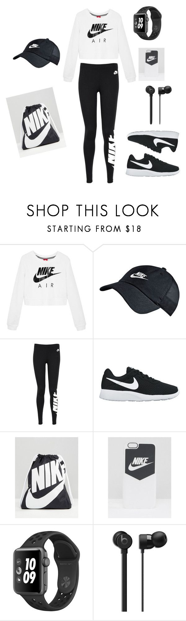 """Nike"" by saracatarina on Polyvore featuring NIKE"