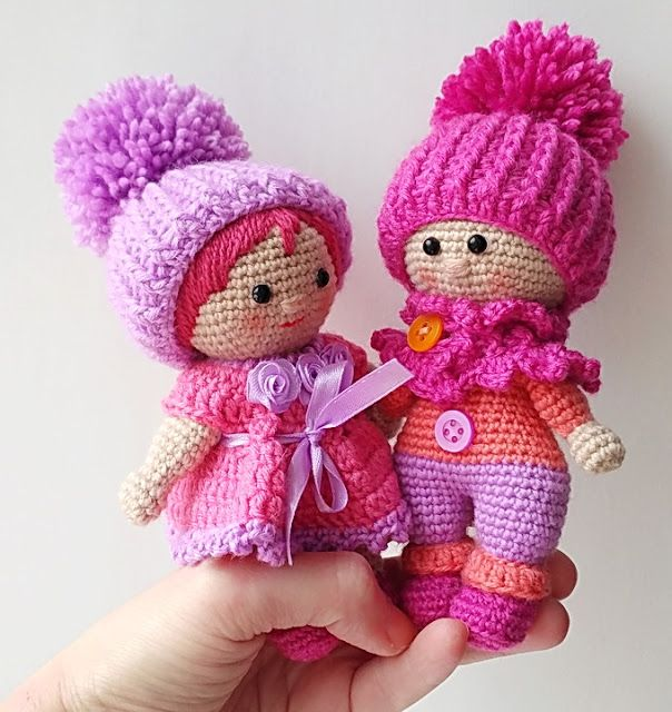 Amigurumi Little Boy and Girl- FREE PATTERN