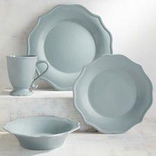 Kate Lake Shore Blue Stoneware Dinnerware