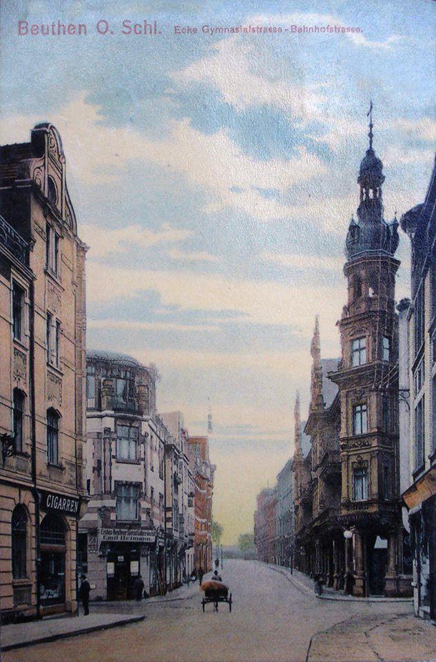 Tak się jeździło po ul. Moniuszki 100 lat temu.