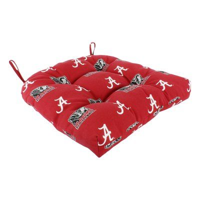 College Covers NCAA Alabama Outdoor Dining Chair Cushion