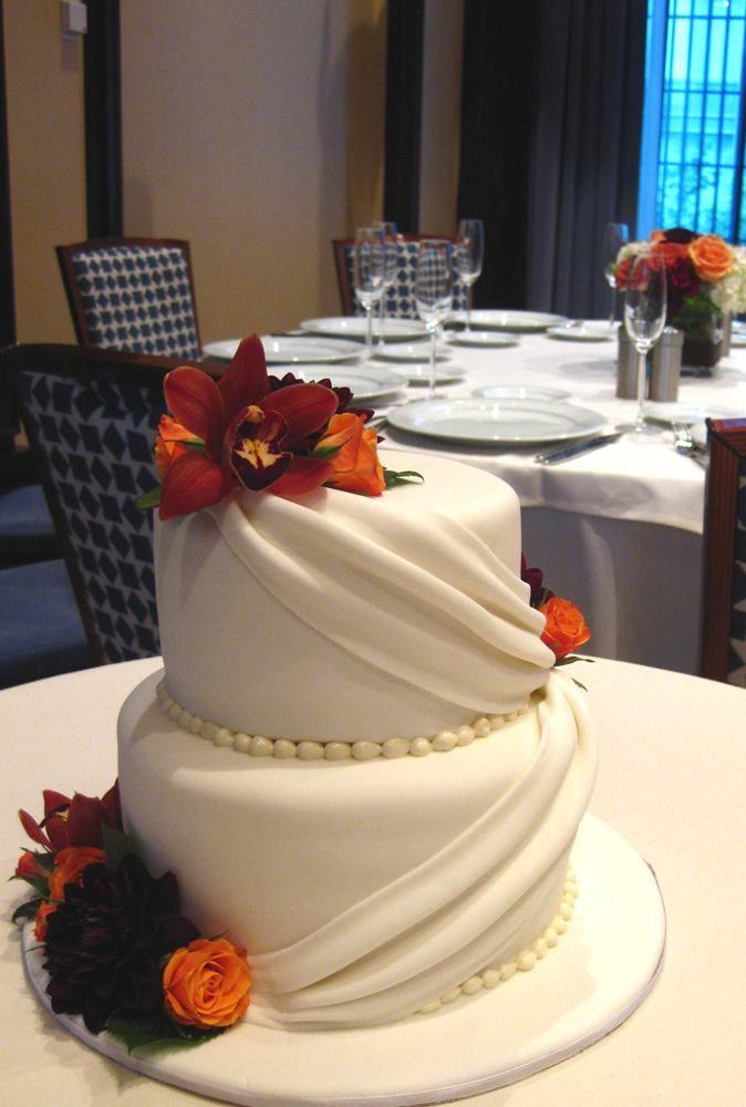 Fall Wedding Cake Decor Photograph   fall flower wedding cak, 674x1000 in 637.3KB