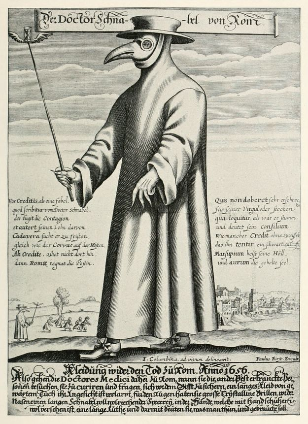 Before we get started, let me put on an official Doctor-ing costume. | Medieval Doctors: Misdiagnosing The Hell Out Of Everything