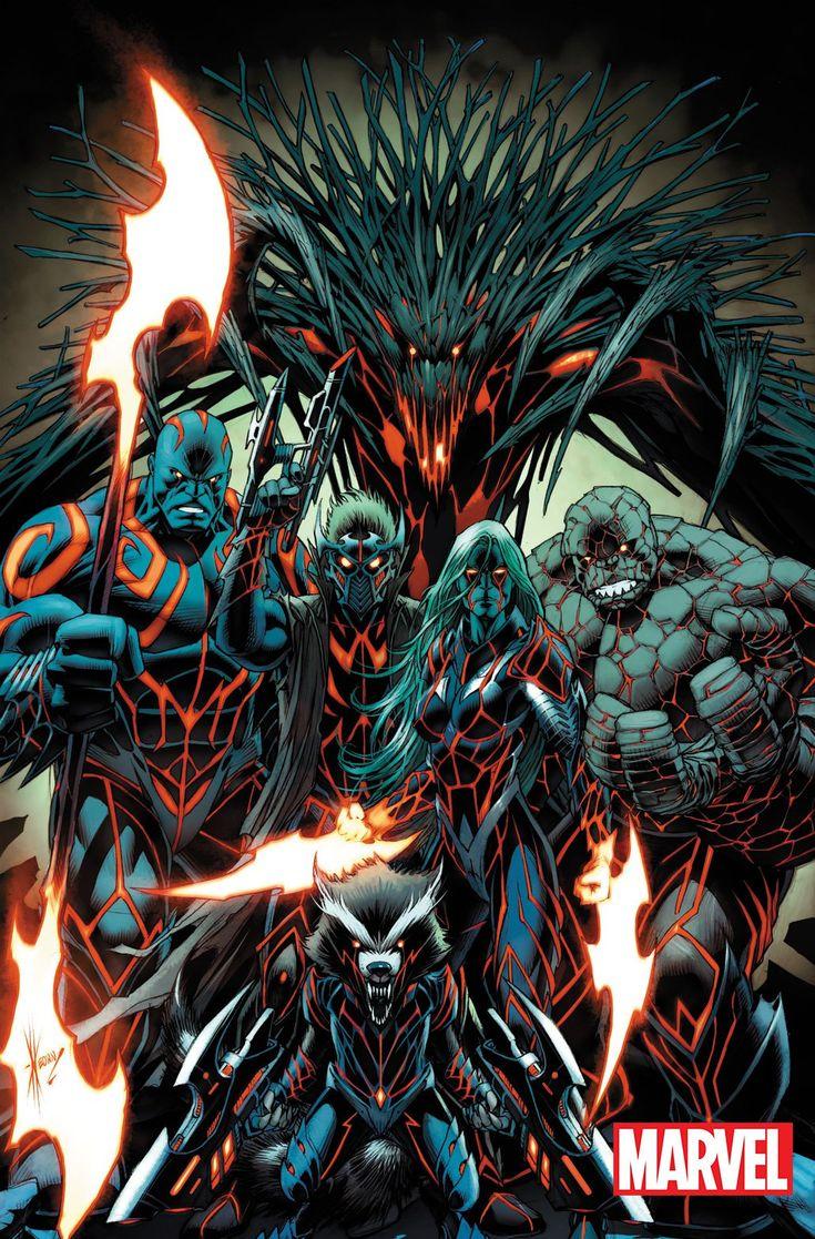 Marvel Comics Reveals Apocalypse Wars Variant Covers: Nova, Starhawk & More - Cosmic Book News..... !!!!