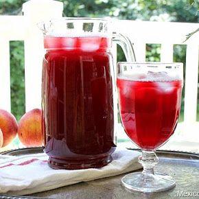 Aguas Frescas (Fresh Drinks, no alcohol) - Jamaica (hibiscus), Tamarindo (tamarind) y Horchata (Rice and Cinnamon)