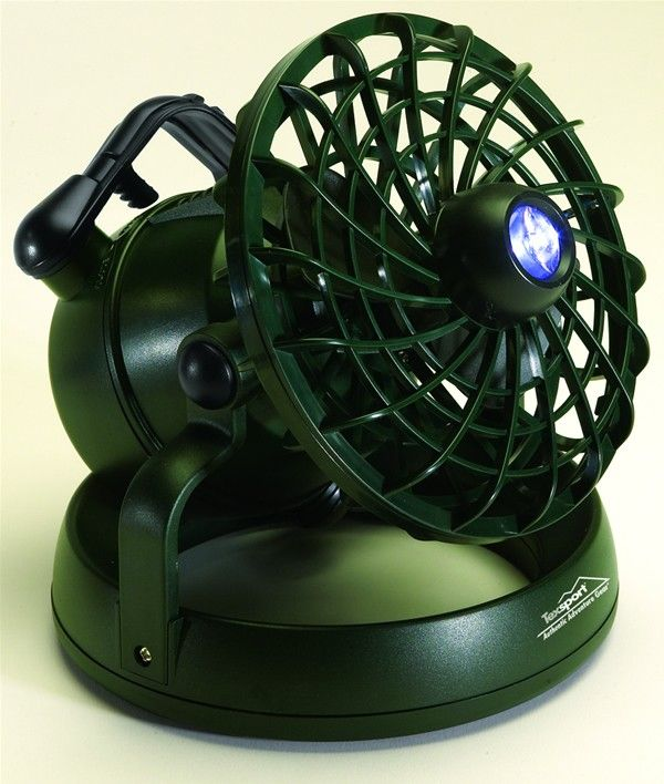 Cool Camping Gear Deluxe Fan Light Combo Love Ours Runs