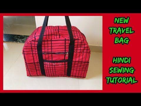 new handbag making tutorial from cloth at home|how to make handbag in hindi-magical hands bag - YouTube