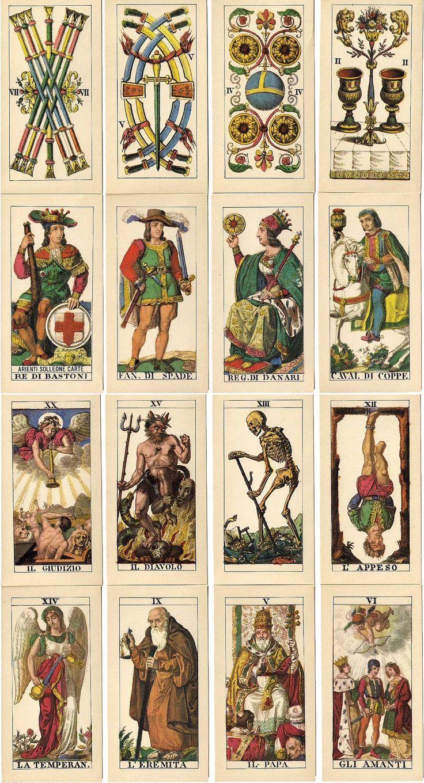 42 Best Vintage Tarot Decks Images On Pinterest