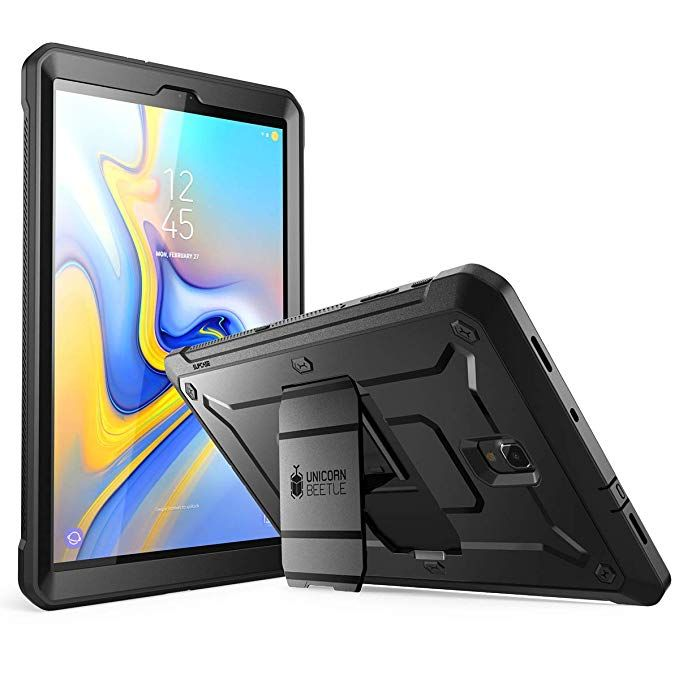 Supcase Full Body Rugged Case For Galaxy Tab A 10 5 With Built In Screen Protector Kickstand Hybrid Case Fo Samsung Galaxy Tab Samsung Galaxy Tablet Galaxy Tab