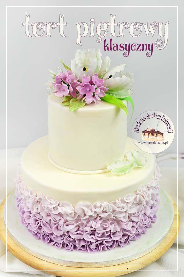 Jestem Izabell Witaj W Mojej Wirtualnej Pracowni Cukierniczej Kawal Ciacha Akademia Slodkich Dekoracji Strona 1 Z 17 Desserts Vanilla Cake Cake