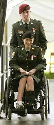 """Anyone who remembers the Iraq War of 2003 remembers Jessica Lynch, the first """"American hero"""" of that conflict. Her convoy had been ambushed behind enemy lines and she was the last soldier alive in her"""