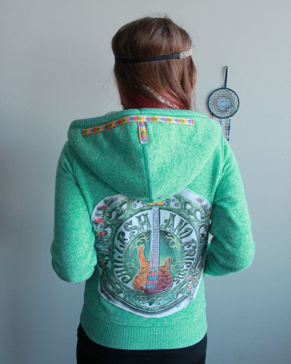 Turquoise Phil Lesh And Friends Guitar by MountainGirlClothing
