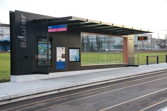 Bus stop shelters   Tram Stop Infrastructure   BURRI. Check it out on Architonic