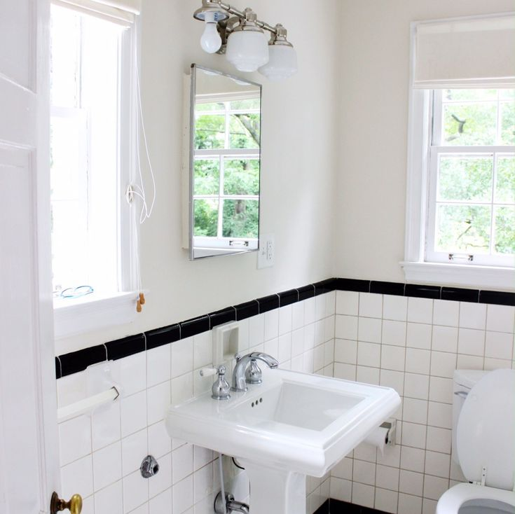 Our renovation plans for this bathroom #bluedoorliving