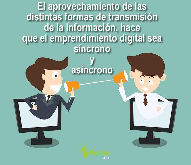 El aprovechamiento de la información.