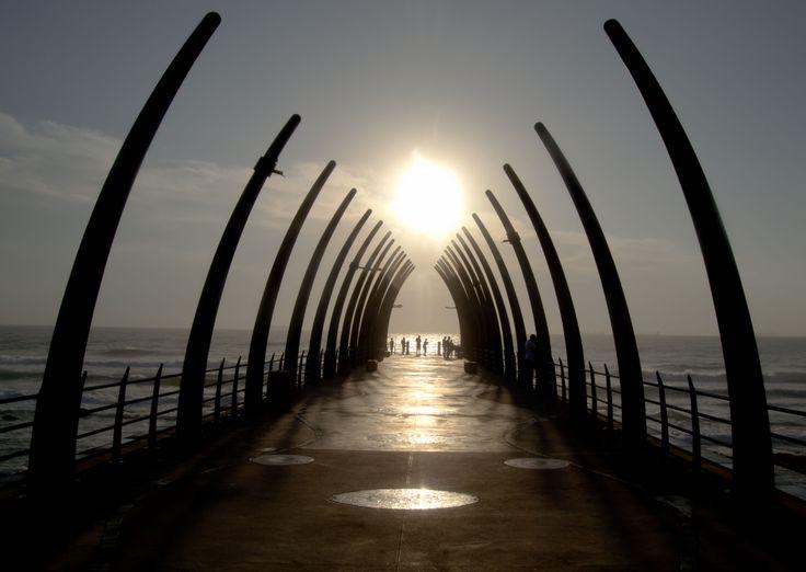 Umhlanga pier.....