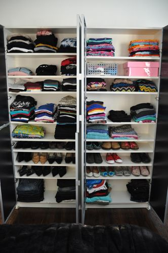 Bookcases For Clothing And Shoes This Would Be Nice For A