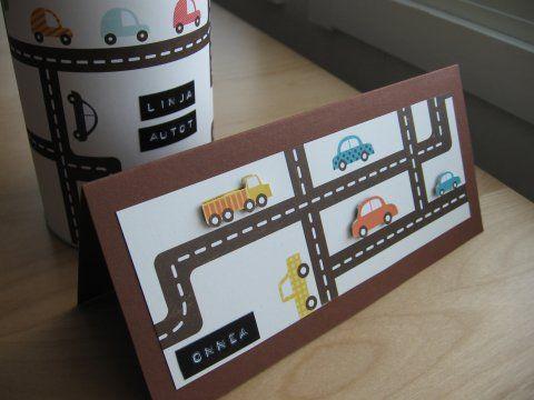 Tekemisen taikaa: Autokortti