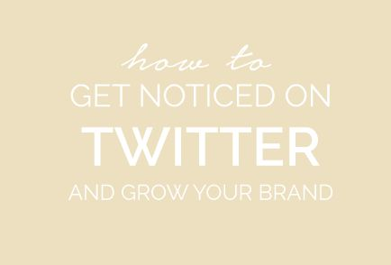 Julie Harris Design Twitter Board Cover | How to get noticed on Twitter and grow your brand. From Tweets, Retweets, Favorites, Twitter Chats and beyond, making the most of what this little birdie has to offer.