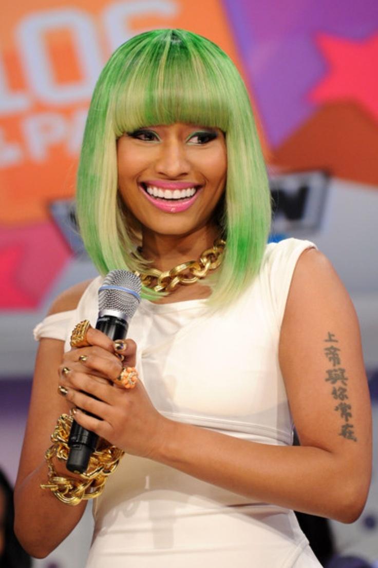 44 best nicki minaj wigs/hair images on pinterest | celebrity