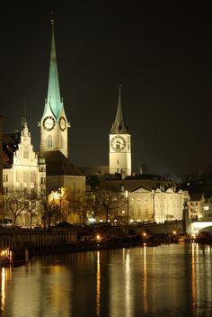 In Zurich, Switzerland.